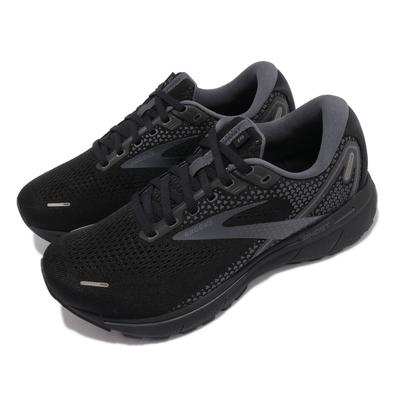 Brooks 慢跑鞋 Ghost 14 4E 超寬楦 男鞋 防震 穩定 流暢 柔軟 舒適 黑 灰 1103694E020