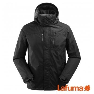 LAFUMA ACCESS  男 二件式防水保暖刷毛外套 黑