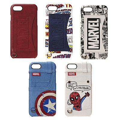 iPhone 8/7 Marvel 漫威 口袋/皮革/背蓋 手機硬殼 4.7吋