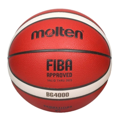 MOLTEN #7合成皮12片貼籃球-室內 室外 戶外 訓練 7號球 B7G4000 橘米白黑