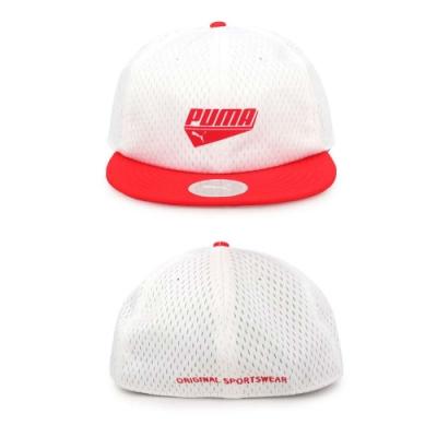 PUMA 基本系列蓋帽 白紅