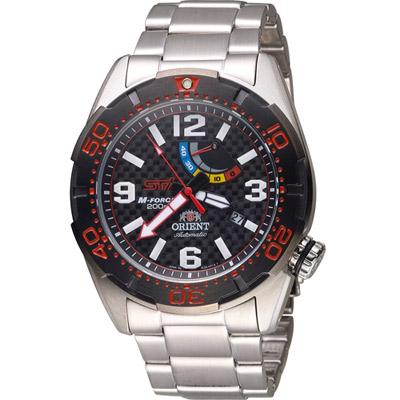 ORIENT 東方錶 速霸陸 限量 200M機械錶-黑/44mm