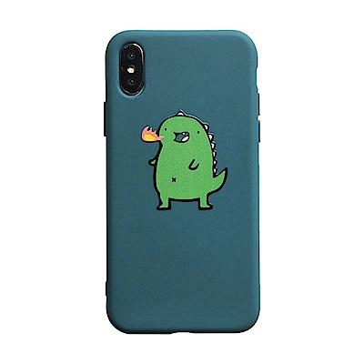 【TOYSELECT】iPhone 6/6s Plus 呆萌噴火小恐龍手機殼