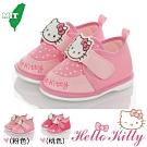 Hello Kitty童鞋 輕量減壓吸震寶寶學步嗶嗶鞋-粉.桃