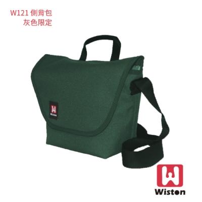 Wiston W121 相機郵差包(小) 灰綠色