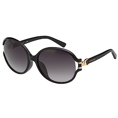 LONGCHAMP 太陽眼鏡 (黑色)LO629SK