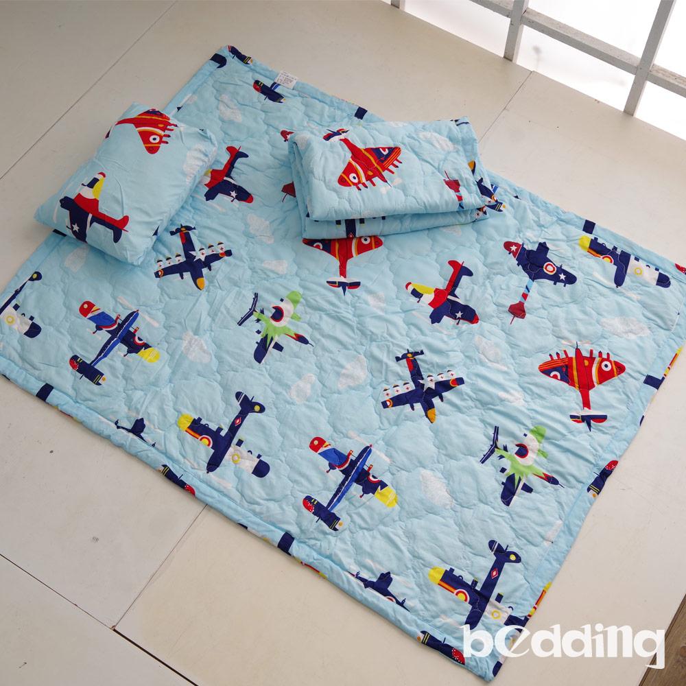 BEDDING-幼稚園必備-兒童鋪棉睡墊三件組-翱翔