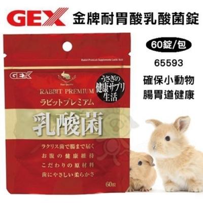 日本GEX《金牌耐胃酸乳酸菌錠》60錠/包