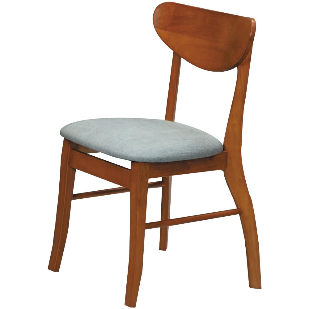 綠活居 伊森皮革&實木餐椅四入組合(六色+四入)-45x47x81cm免組