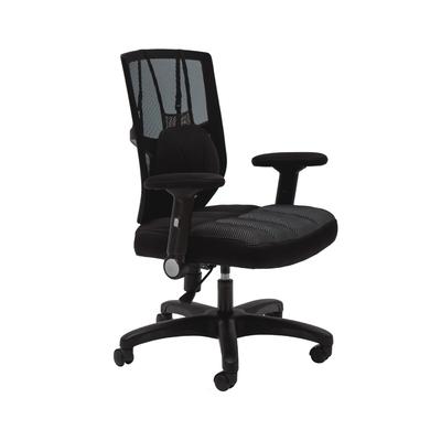 完美主義 氣墊扶手透氣厚墊舒適包覆電腦椅/辦公椅/主管椅(2色)