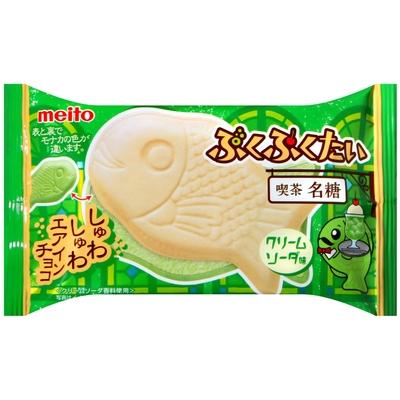 名糖 鯛魚造型巧克力風味餅乾-冰淇淋蘇打風味(16.5g)