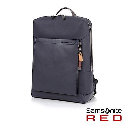 Samsonite RED BRISY 中性時尚吊飾筆電後背包L 15.6 (海軍藍)