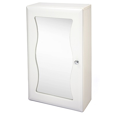 Aaronation 安全防爆玻璃浴鏡 單門鏡櫃-GU-C1010WA