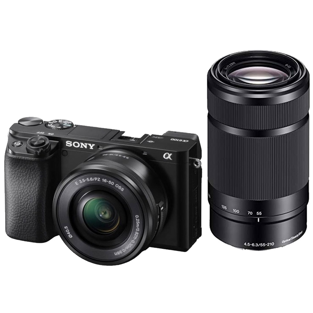 SONY A6100 16-50mm + 55-210mm A6100Y 雙鏡組(公司貨)