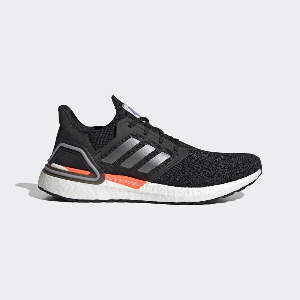 ADIDAS 慢跑鞋 運動鞋 緩震 訓練  男鞋 黑 SPACE RACE ULTRABOOST 20 FX7979