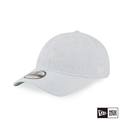 NEW ERA 9TWENTY 920 毛圈織物系列 MINI LOGO 道奇 淺藍綠 棒球帽
