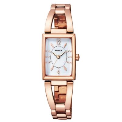 CITIZEN wicca甜美華麗太陽能手鐲腕錶KF7-562-11