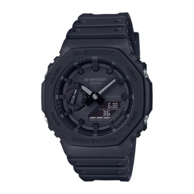 CASIO卡西歐 G-SHOCK 八角型錶殼 GA-2100-1A1 45.4mm