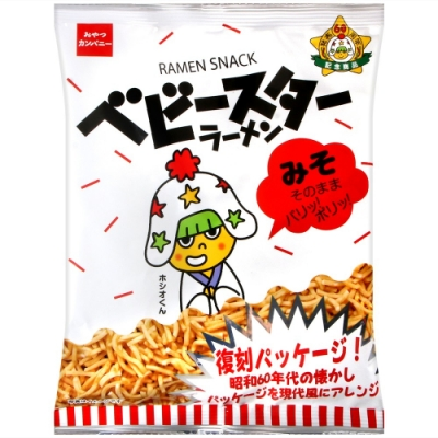 OYATSU 點心餅乾[味噌風味](74g)