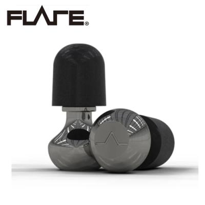 Flare Isolate 2 系列 TI1 鈦金屬專業級英國防躁耳塞 POL 拋光亮面科技銀色款