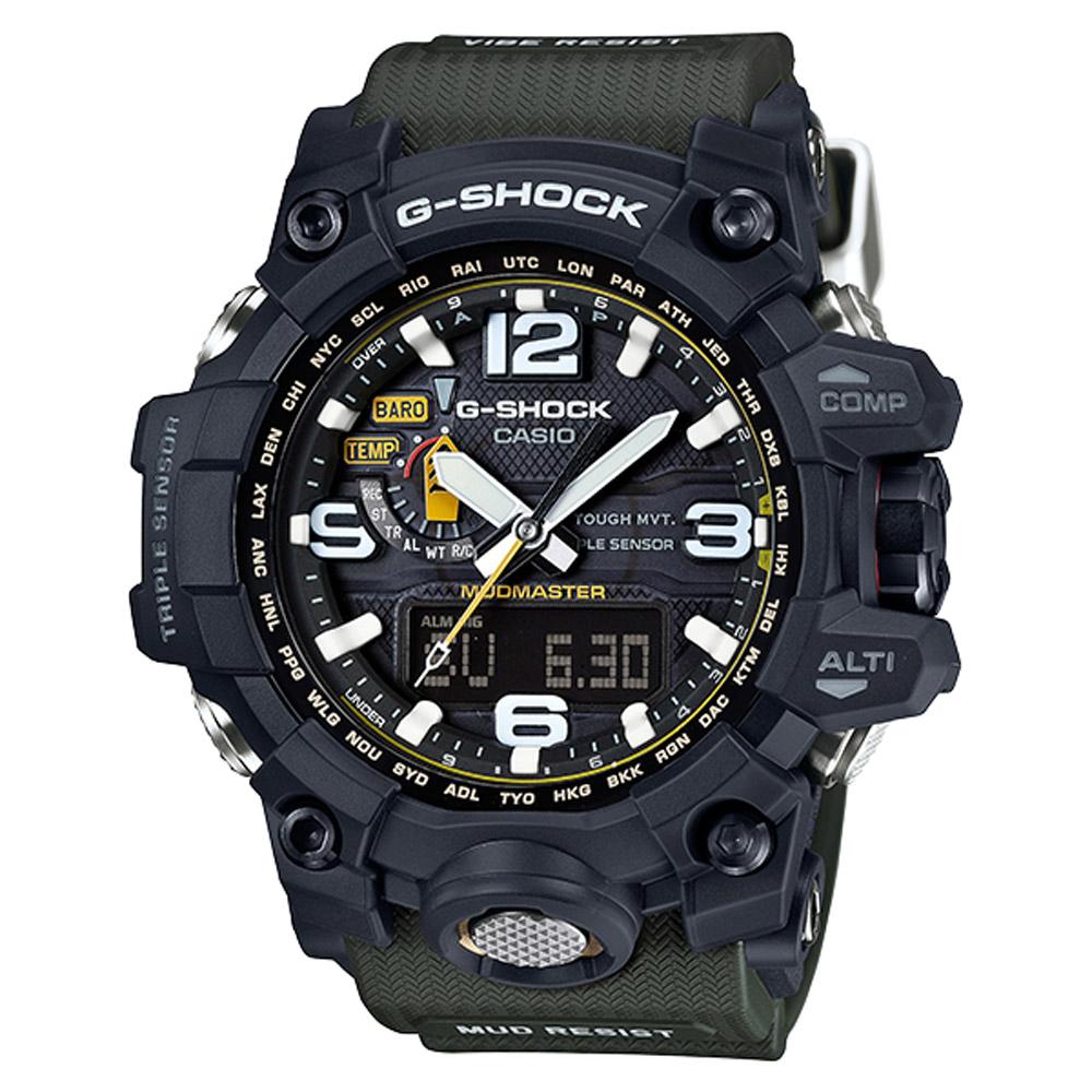 G-SHOCK 極限陸上探險家電波運動錶(GWG-1000-1A3)-56.1mm @ Y!購物