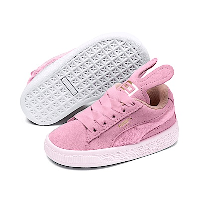 PUMA-Suede Easter AC Inf 嬰孩籃球鞋-淡淺粉