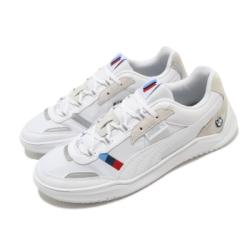 Puma 休閒鞋 BMW MMS DC Future 男鞋 聯名 舒適 皮革 簡約 質感 穿搭 白 銀 30652302
