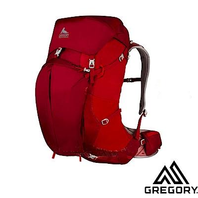 GREGORY 新款 Z65 專業健行登山背包(M/65L)_火花紅