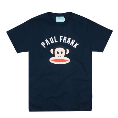 paul frank 初衷字母猴頭純棉T-深藍(男版)