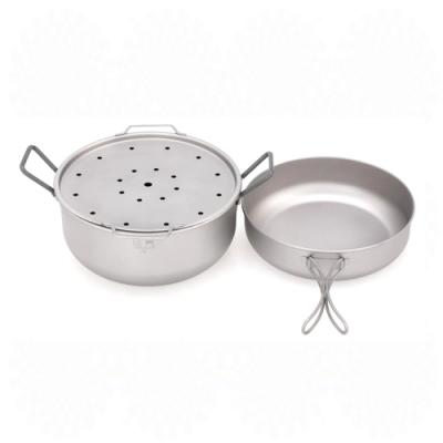 Keith純鈦 Mi6015多功能蒸煮套鍋
