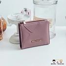 MARC ROCOO-璐奇亞系列-蓋扣短夾-MR-326-藕紫色