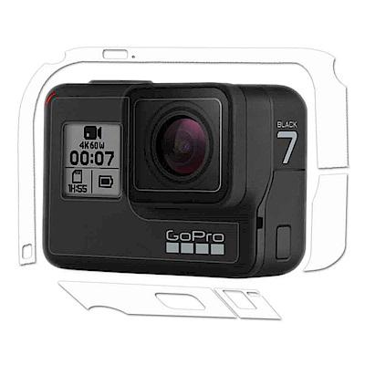 (2入)GoPro HERO 7 主機專用透明保護膜 機身膜(防污 防指紋)