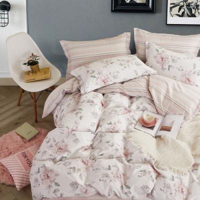 La Lune 台灣製純正200織精梳棉雙人床包3件組 多款任選