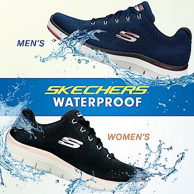 SKECHERS 女運動系列 FLEX APPEAL 4.0 防水鞋面 - 149298BKPK