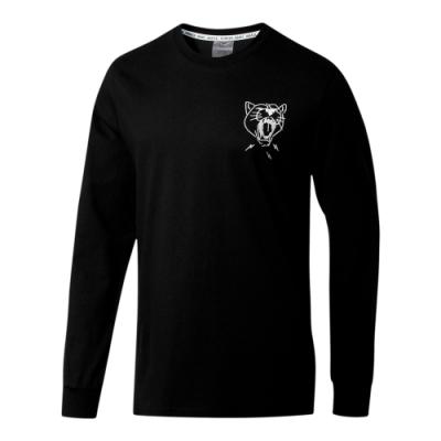 PUMA-男性籃球系列DON T FLINCH PHOTO長薄T恤-黑色-歐規