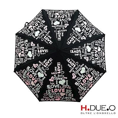 義大利H.DUE.O LOVE變色抗UV三折手開傘