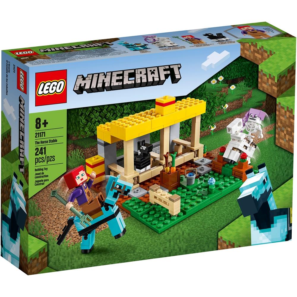 樂高LEGO Minecraft系列 - LT21171 The Horse Stable