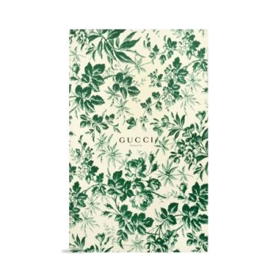 GUCCI Bloom 花悅綠漾紀念筆記本(空白)