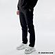 Hang Ten-中性款簡約純色棉質直筒褲-黑 product thumbnail 1