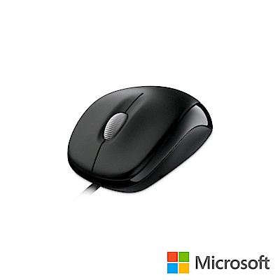 微軟 光學精靈滑鼠500 - 黑 盒裝
