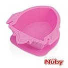 Nuby 矽膠餐碗_火箭-粉