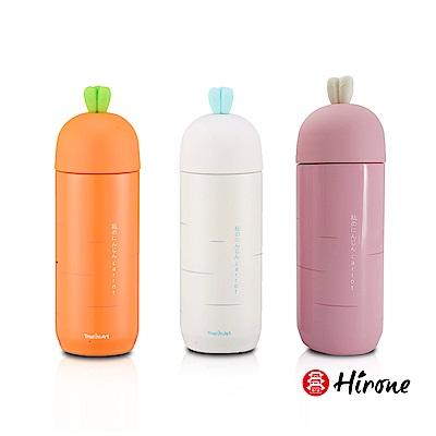 時時樂限定-Hirone-日本博音-Q萌造型保溫瓶