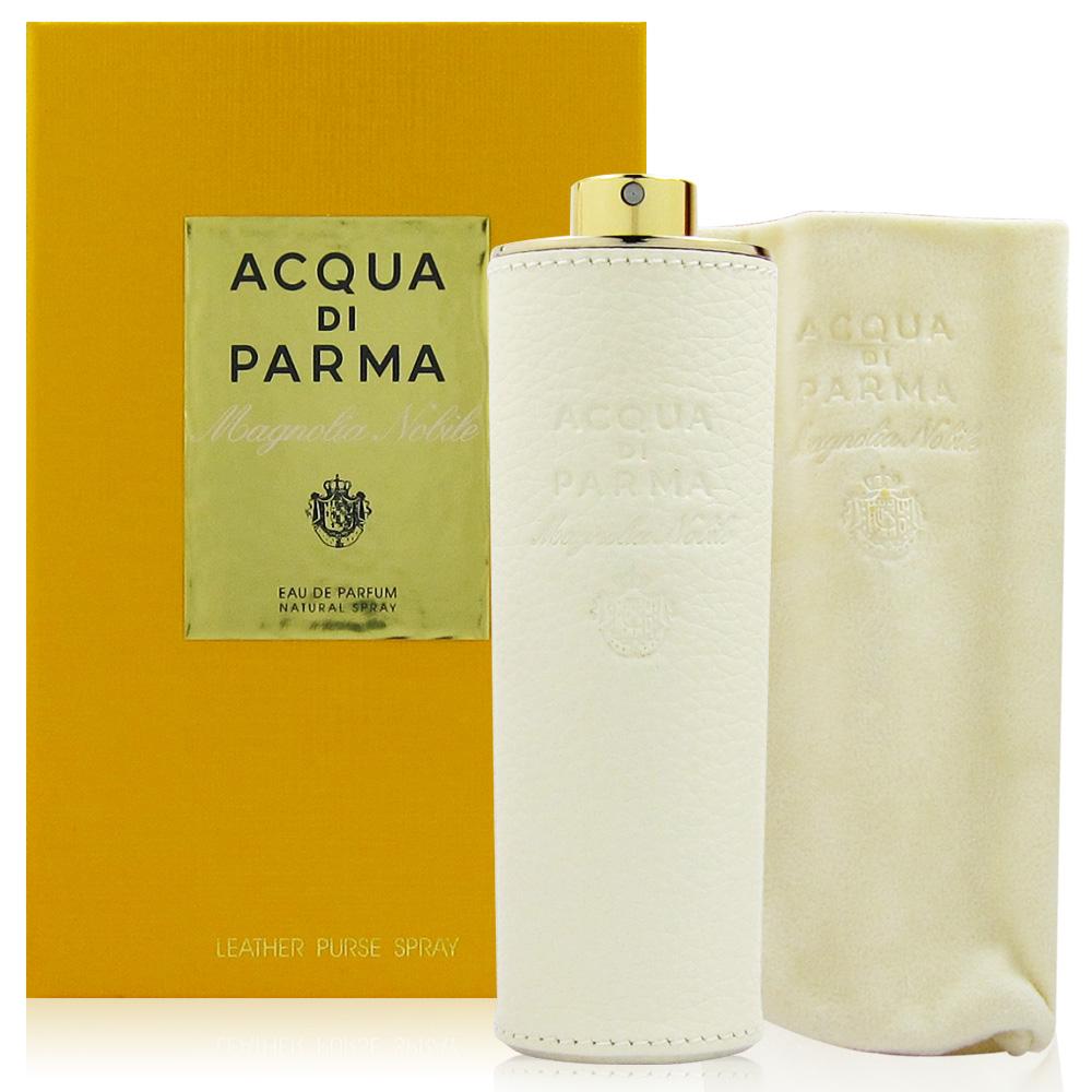 Acqua Di Parma 高貴木蘭花淡香精 20ml 皮革隨身噴霧瓶 內附絨布套
