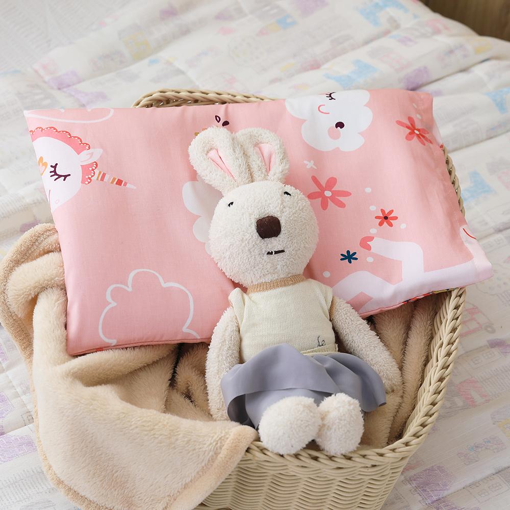IN HOUSE-3D嬰兒水洗枕-快樂獨角獸(粉)