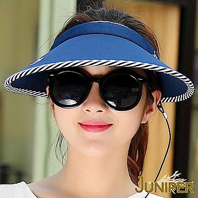 JUNIPER 抗UV超大眉檐遮陽高爾夫球休閒空心帽
