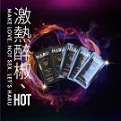 HARU 含春STEAMY 熱感潤滑液頂級拋棄式隨身片(1盒10片,30ml)