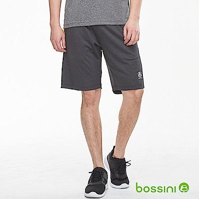 bossini男裝-ZtayDry針織短褲01麻灰
