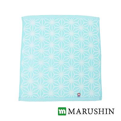 [活動]日本丸真今治雪花方巾-亮藍色