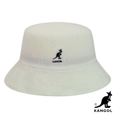 KANGOL -BERMUDA BUCKET 漁夫帽-白色