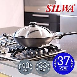 西華SILWA冷泉科技超厚合金炒鍋37cm